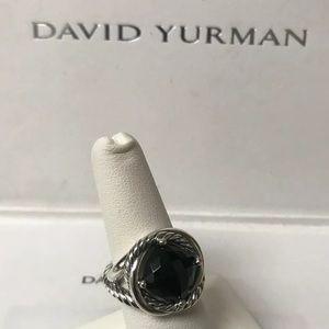 David Yurman Infinity Ring With Black Onyx